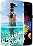 Loyobo Coque de protection en TPU pour LG K4 avec film protecteur d'écran Transparent