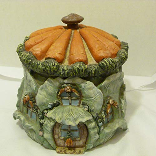 Learn More About Department 56 Vintage 1990 Whimsical Carrots & Cabbage House Cookie Jar