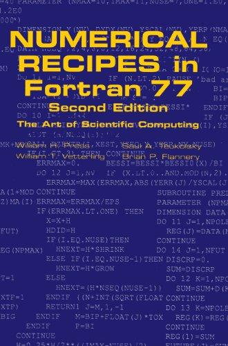 وصفات عددية في Fortran 77: فن الحوسبة