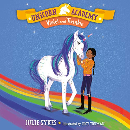 Violet and Twinkle Audiobook By Julie Sykes cover art