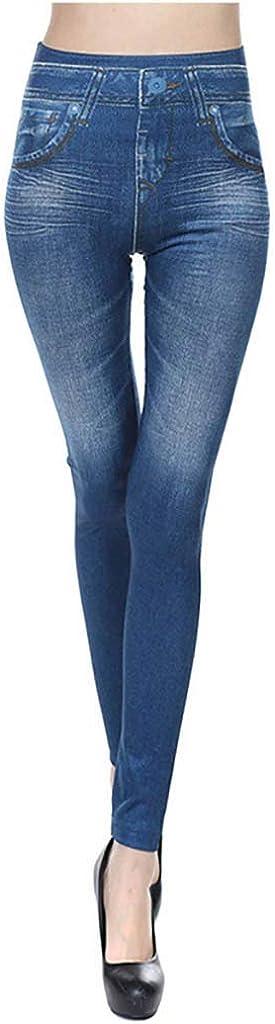 Skinny Jeans for Women,Women's Slim Fit Denim Stretch High Waist Pencil Trousers Long Pants Skinny Jeans