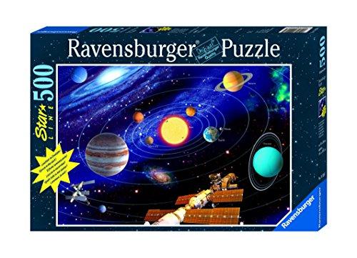 Ravensburger - 500 Teile Star Line fluoreszierend - Das Sonnensystem
