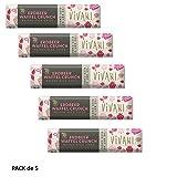 Vivani Organic Chocolate Fresa Crujiente 35g Pack de 5