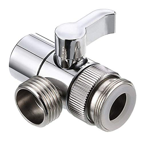 Baalaa Válvula de grifo desviador de la válvula del fregadero grifo de agua Divisor del grifo del hogar baño cocina desviador