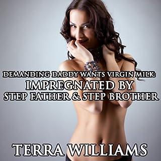Demanding Daddy Wants Virgin Milk audiobook cover art