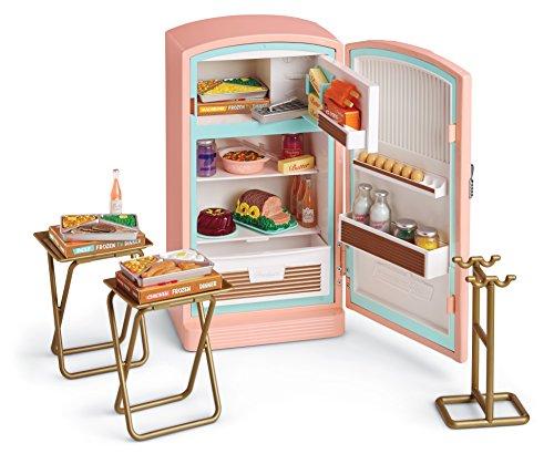American Girl Maryellen's Refrigerator & Food Set