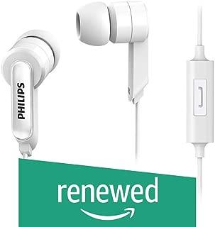 (Renewed) Philips SHE1405WT/94 in-Ear Wired Headphone (White)