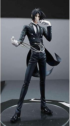 hongliu Schwarz Einheitliche Zeichentrickfigur Modellierung Ornamente Spielzeug Geburtstagsgeschenk 20Cm