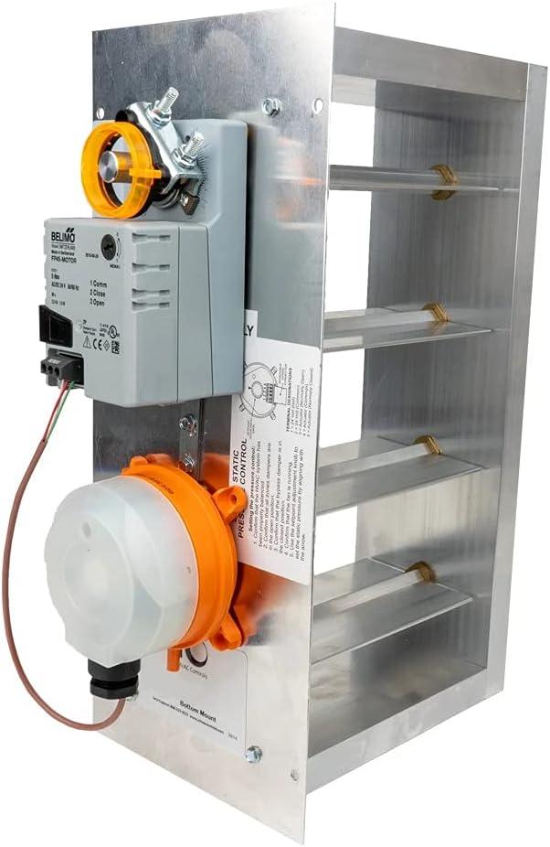 iO HVAC Controls EB-1208-BM Some reservation 12 Weekly update Inch Rectangular 8 Heavy D X