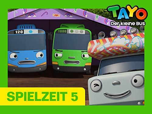 Tayo Spielzeit 5 - Die Kleinen Busse fahren campen