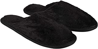 Old Cobbler Unisex Black Flip- Flops & House Slippers(Free Size)