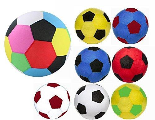 Unbekannt 2enorme XXL hinchable de balones con forro polar móvil, 50cm de diámetro. Super Balón de fútbol para el jardín, piscina, piscina, piscina, etc.