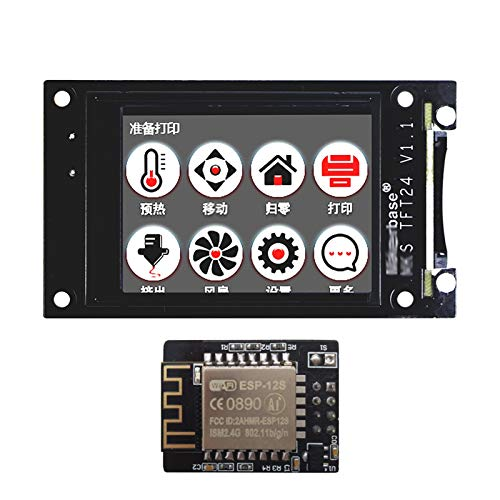 JIJIONG 3d Printer/Fit For MK.S TFT24 Touch Screen Smart Display Controller 3d Printer Parts 2.4 Inch Full Color Support Wifi Wireless Control (Color : TFT24 WIFI)