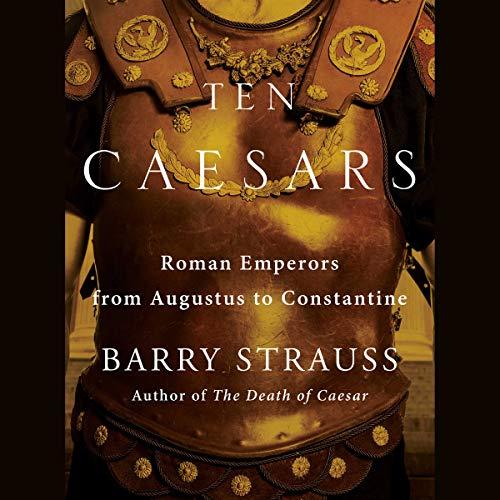 Ten Caesars audiobook cover art