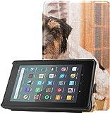 Funda Fire Case 7 2019 A FUUNY Dog Play The Piano Funda Fire 7 para Tableta Fire 7 (novena generació...