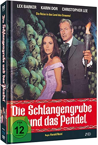 The Torture Chamber of Dr. Sadism ( Die Schlangengrube und das Pendel ) (Blu-Ray & DVD Combo) [ Blu-Ray, Reg.A/B/C Import - Germany ]