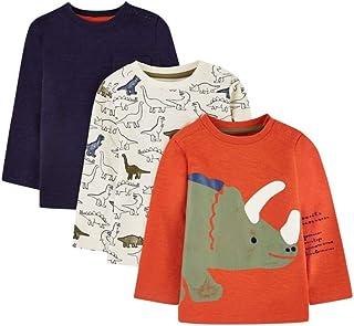 Mothercare MB St Nvy AOP Dino Shirt LS Camiseta para Beb/és