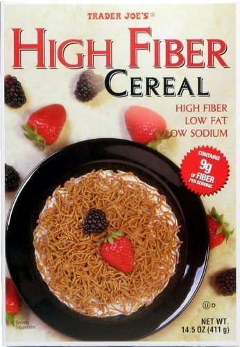 Trader Joe's High Fiber Cereal, 14.5 oz (2 PACK)