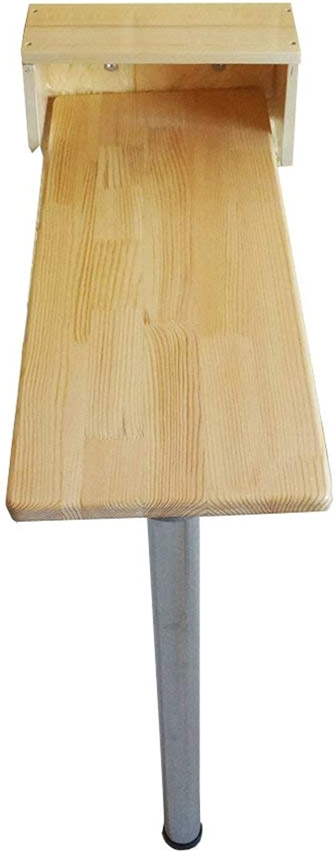 ventas en linea ZHAS Mesa Plegable de parojoHeavy Duty Mesa Mesa Mesa de Parojo abatible Pequeña con Soportes de Aluminio Oblong Kitchen \u0026 Dining Table (Tamaño  80  40cm)  ahorre 60% de descuento