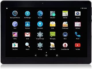 ロック解除パッド10インチOcta Core 3GタブレットAndroid 7.0(デュアルSIMカードスロット付き)2GB RAM 32GB ROM内蔵WIFI Bluetooth GPS (黑色)