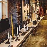 Schmiede Alfons Steidl – kunstvoll geschmiedeter Kerzenhalter mit Vertiefung für die Aufnahme von Stumpenkerzen bis 8cm Durchmesser. EIN Unikat mit edlem Design aus dem osttiroler Villgratental AS306 - 6