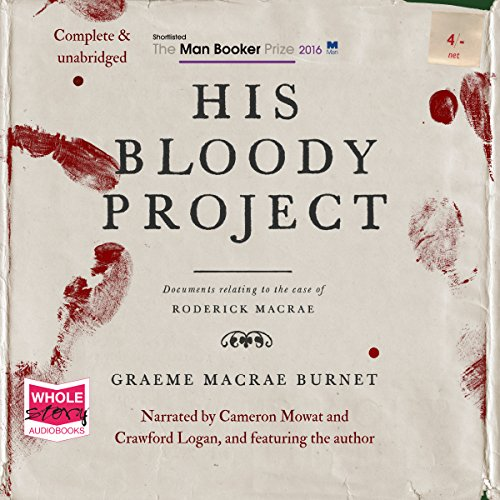 His Bloody Project audiobook cover art