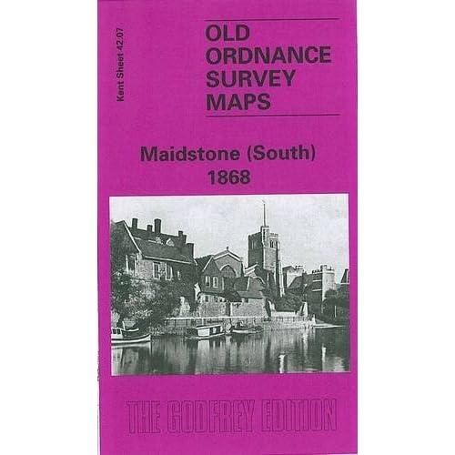 Maidstone (South) 1868: Kent Sheet 42.07