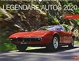 Legendäre Autos. Wandkalender 2020. Monatskalendarium. Spiralbindung. Format 44 x 34 cm