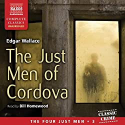 The Just Men of Cordova, Edward Wallace, audiobook, free books