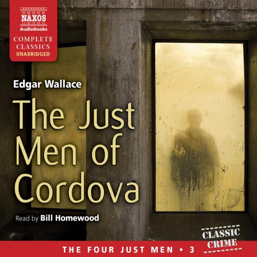 The Just Men of Cordova audiobook cover art