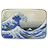 Fig Design Group Women's Fine Art Identity Protection RFID Wallet - Hokusai Wave