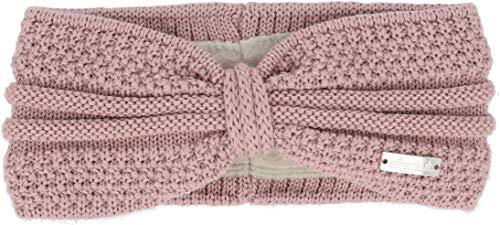 Eisglut Damen Esmeralda Merino Stirnband, rosa, M 57-58cm
