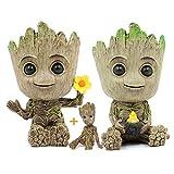 Hawofly Baby Groot blumentopf Mit Drainage Loch, Innovative Action-Figur für...