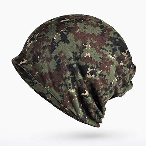 FHYY wintermuts beanie gebreide muts cap digitale camouflage heren winterhoed katoen sjaal gezicht masker 3 in 1 hoed vrouwelijke outdoor skimutsen unisex motorkap
