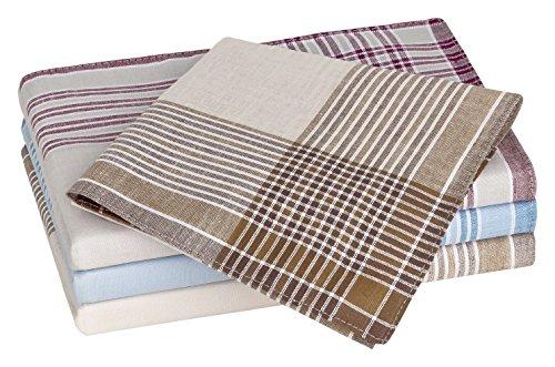 Tobeni mouchoirs 20 hommes de coton 100 couleurs 40 x 40 cm
