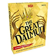 The classic card game with a Dungeons & Dragons spin First player with no cards wins—but don't get too comfortable! In a single hand the lowliest dreg can take down the reigning ruler Easy-to-learn, fast-paced gameplay—perfect party game or family ga...