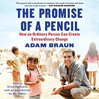 The Promise of a Pencil audiobook cover art