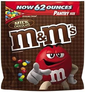 海外直送品 M&M'S Milk Chocolate Candy pantry Size Bag, 62 oz