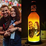 Magicbottles lamp Personalized Anniversary Wedding Gift for Couples with Free Greeting Card