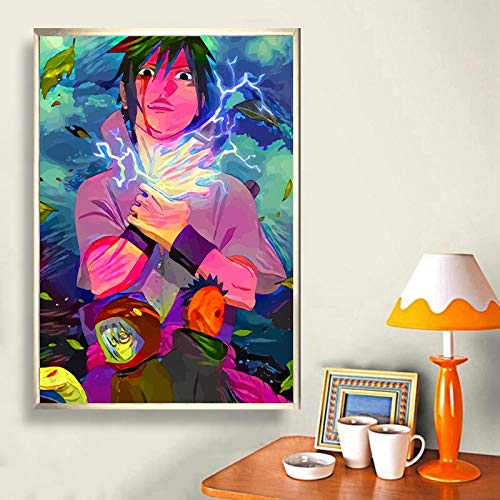 KWzEQ canvas wall art prints Anime poster onpictures decorativefor room home decor,60x90cm,Frameless painting