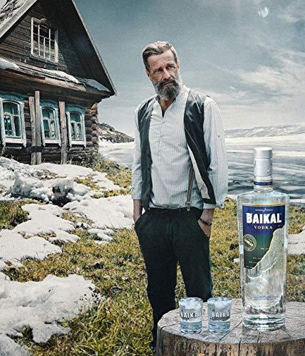 Baikal Vodka, sibirischer Premium Wodka 40% vol., Qualitäts Vodka mit Wasser des Baikalsees hergestellt (1 x 0.7 l) - 5