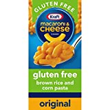 Twelve 6 oz. boxes of KRAFT Gluten Free Mac and Cheese Dinner KRAFT Macaroni and Cheese is a convenient gluten free boxed dinner Box includes brown rice and corn pasta with original flavor cheese sauce mix Gluten Free KRAFT Mac And Cheese contains no...