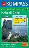 Capri: Mit Kurzführer. Dt. /Ital. /Franz. /Engl. 1:7500