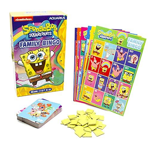 SpongeBob SquarePants Family Bingo