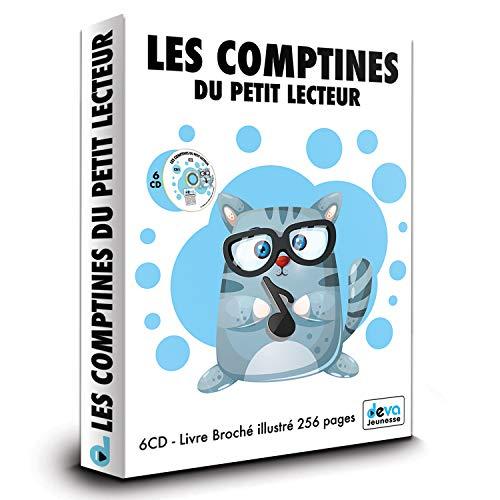 Comptines du petit lecteur - Coffret 6CD avec Livre 256 Pages