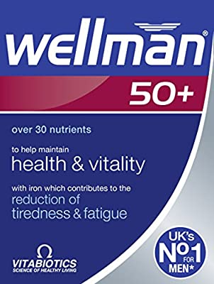 Wellman 50+, 30 Tablets