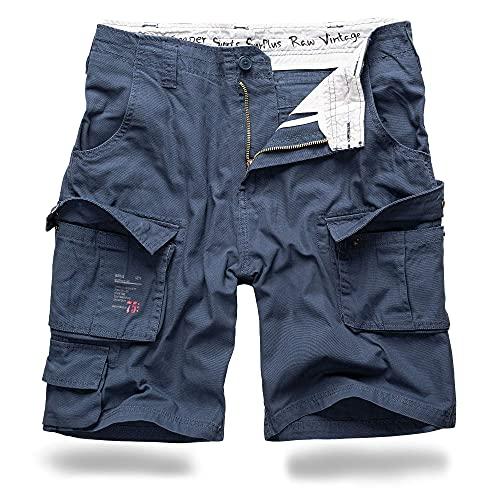 Trooper Shorts Lightning Edition Navy - L