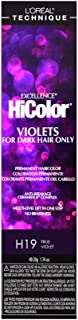 L'oreal Paris Excellence Hicolor Permanent Hair Color, True Violet