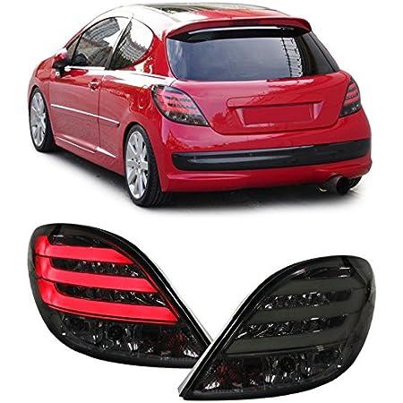 Carparts Online 11994 Klarglas Rückleuchten Schwarz Auto