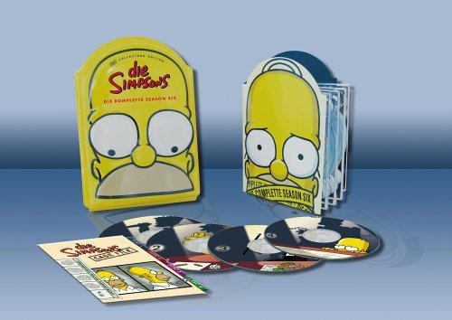 Season 6 (Kopf-Tiefzieh-Box, Collector's Edition, 4 DVDs)